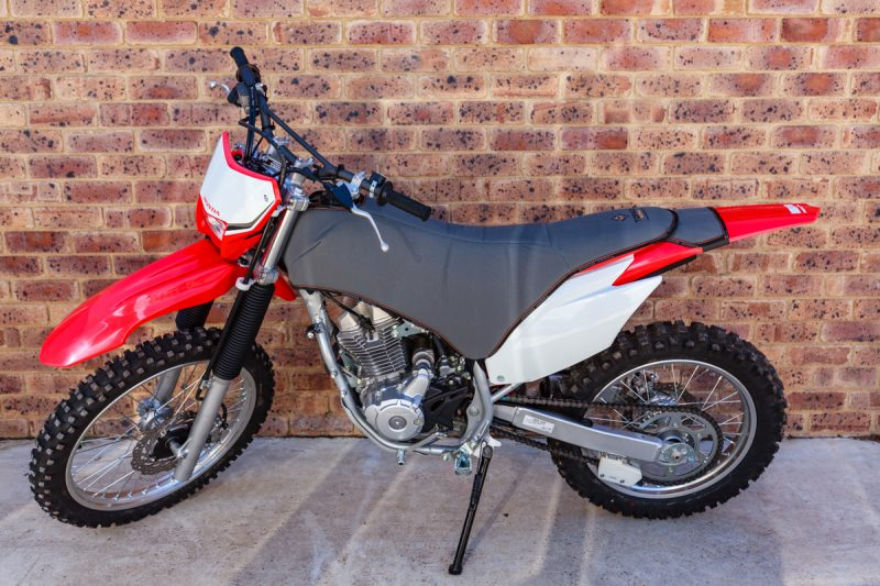 CRF250F Padded Canvas Seat and Tank Cover