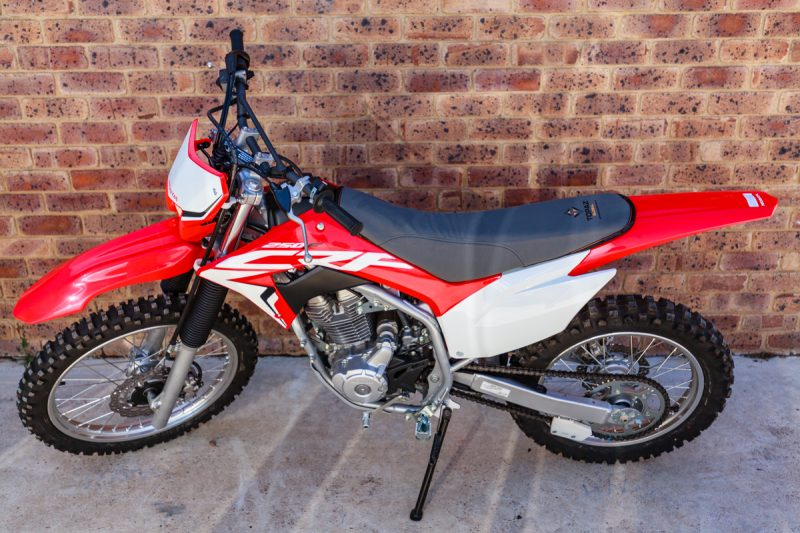 Canvas Seat Cover Honda CRF250F